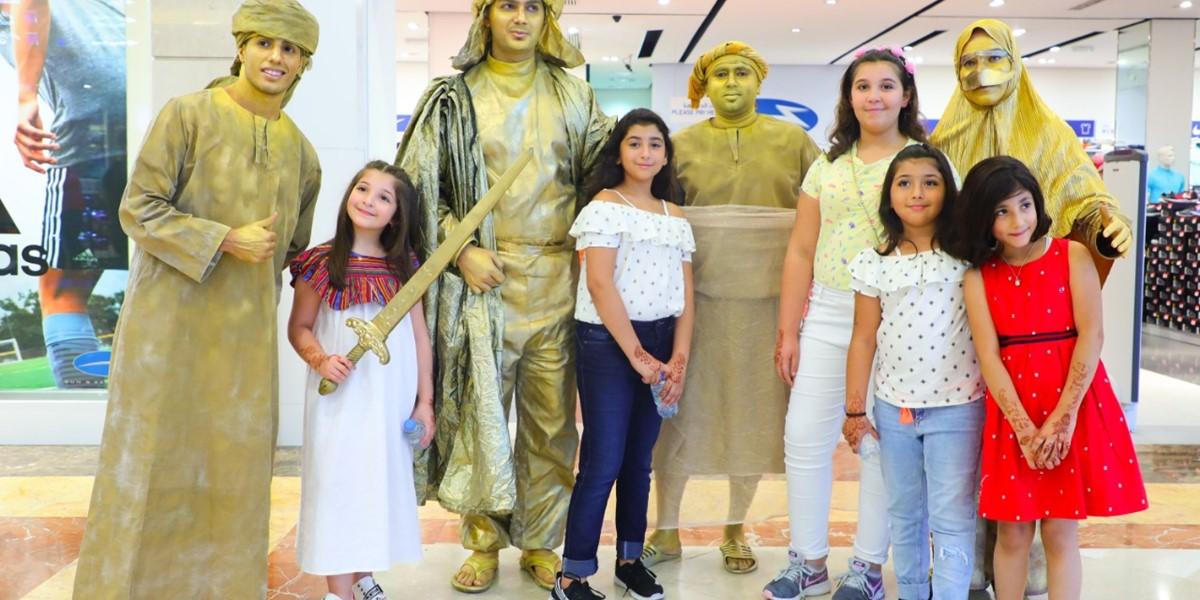 Entertainment activities for families announced at malls during UAE National Day weekend